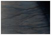 Kaiser Crater Dune Gullies