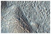 Olivine-Rich Crater and Ejecta in Terra Sirenum