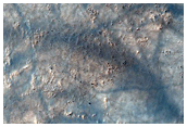 Gully and Apron on Crater Wall As Seen in THEMIS Image V26204009