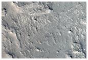 Crater Central Uplift in Arabia Terra