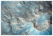 Dense Cratered Cone Field in Cydonia Region