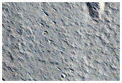 Tooting Crater Ejecta