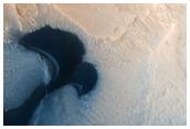 Dunes on Crater Floor in West Arabia Terra Region