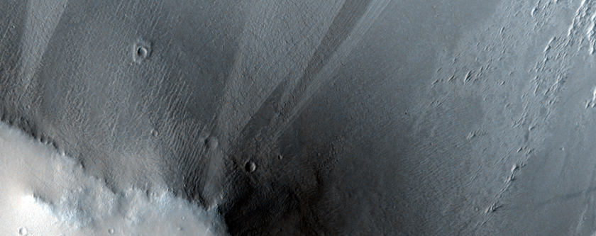 Meander and Tributary of Scamander Vallis
