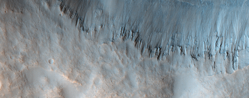 Two Craters South of Sirenum Fossae
