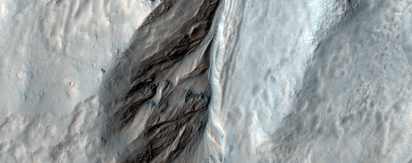 Central Peak Gullies