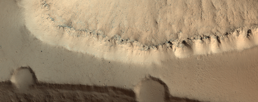 Valleys Carved into Elysium Mons