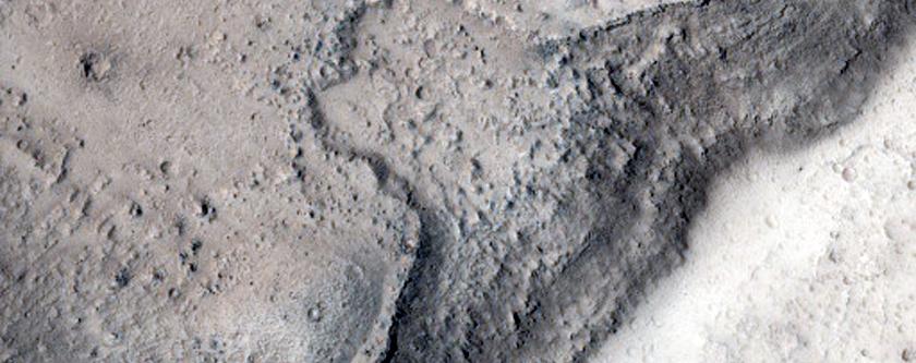 Inner Channel in Kasei Valles