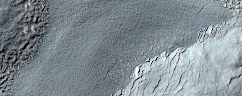Lines of Pits Near Promethei Terra
