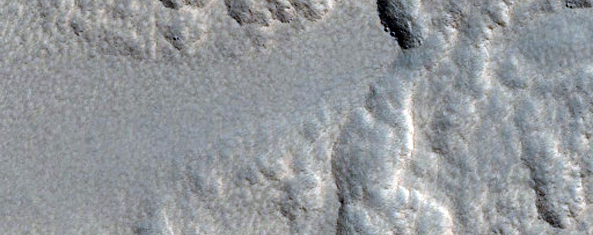Milankovic Crater Wall