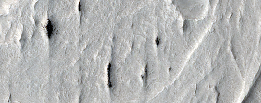 Meanders and Tributaries in Ridge Form in Zephyria Region