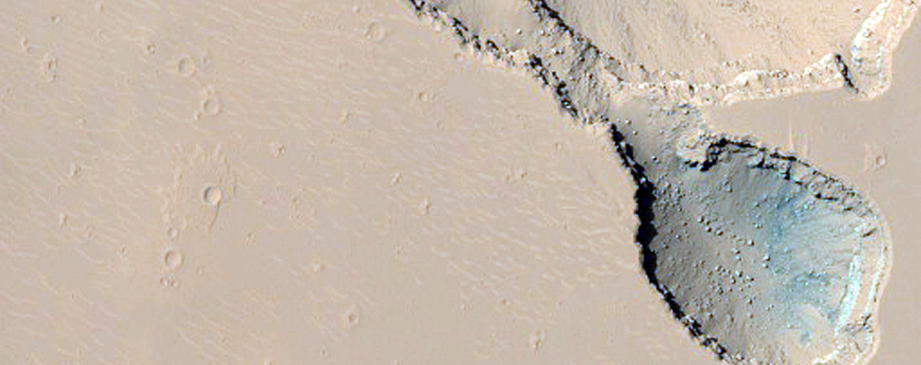 Boulder Slopes in Cerberus Fossae