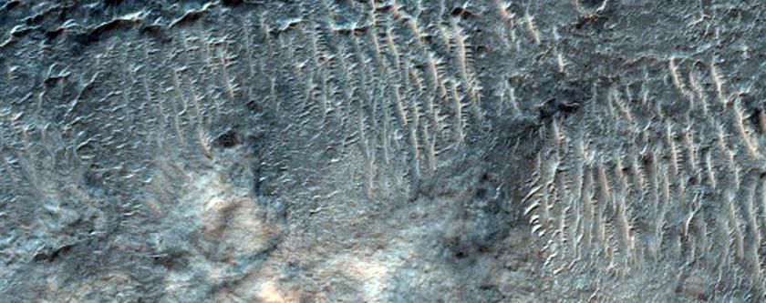 Channel in Terra Tyrrhena