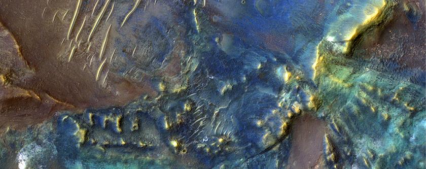 The Floor of Toro Crater