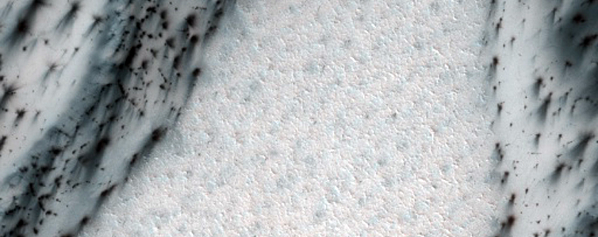 Dunes on Cemented Substrate