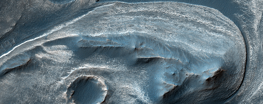 Cratered Dune Forms