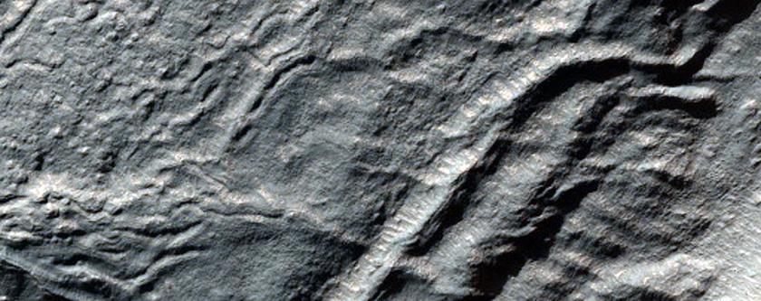 Crater Features in Promethei Terra