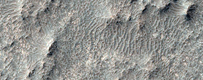 Tyrrhena Terra Intercrater Plains