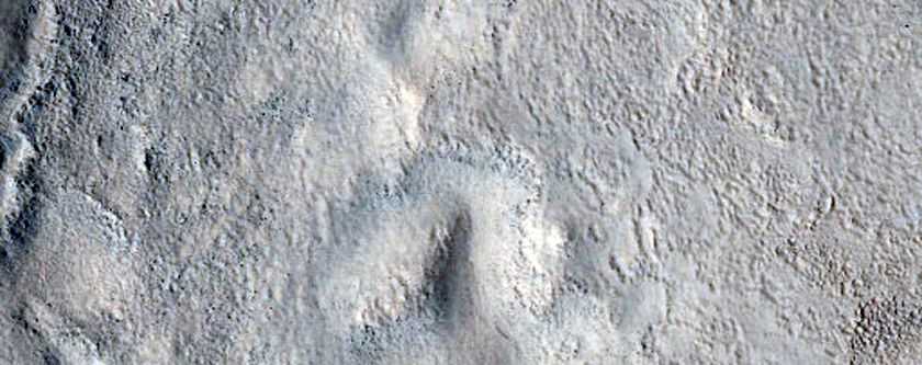 Terrain Features in Utopia Region