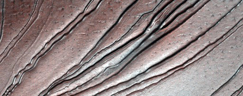 Russell Crater Dunes and Gullies