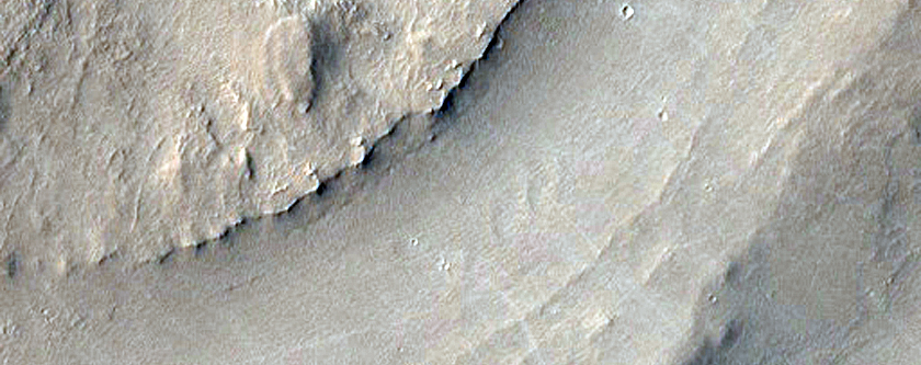 Concentric Circular Features and Sinuous Ridge in Arabia Terra