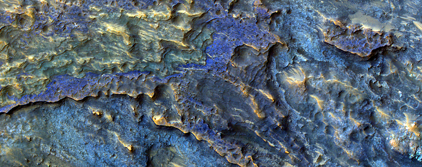 Layers of Water-Deposited Sediment
