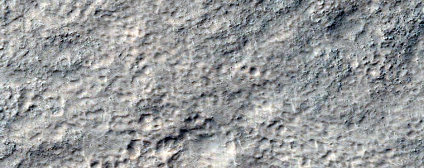 Small Crater near Dao Vallis