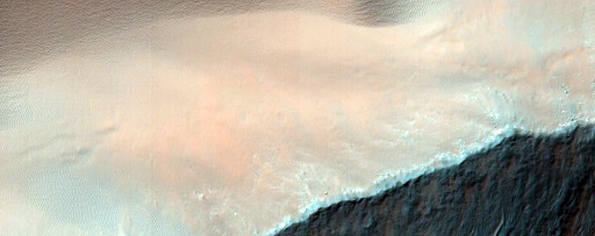 Dunes and Gullies in Sirenum Fossae