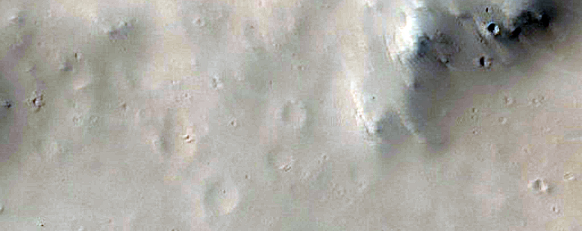 Crater in Mountainous Terrain