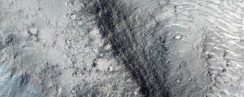 Isidis Region Terrain Features
