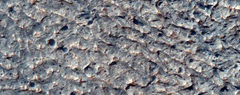 Hematite in Aureum Chaos