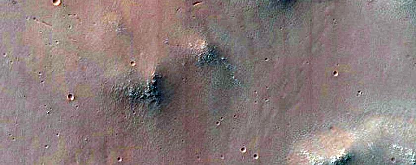 Coprates Chasma Massif Top