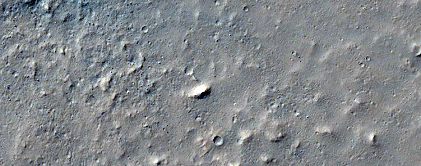 Small Fresh Impact Crater