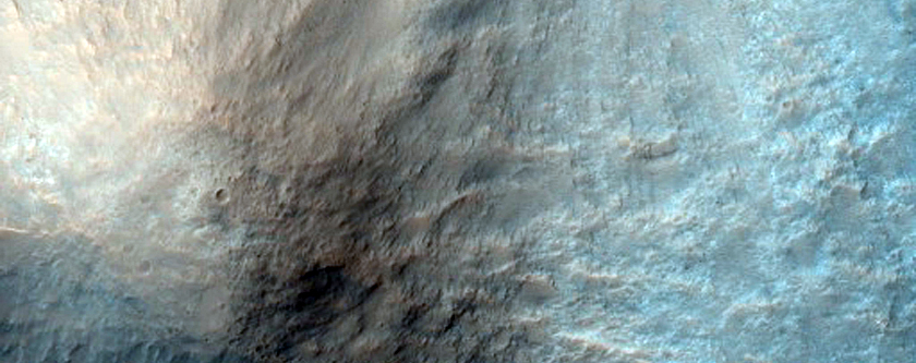 Impact Crater with Central Pit