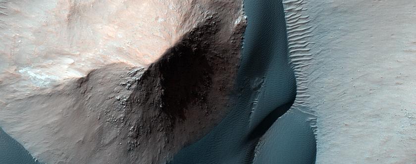Sculpting Dunes in Ganges Chasma