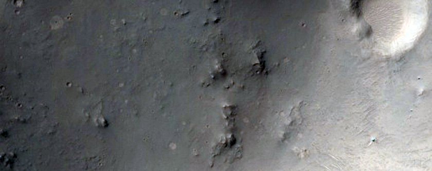 Rocky Impact Crater