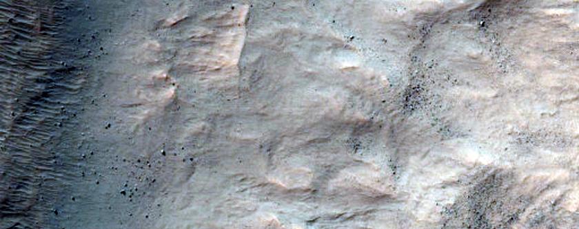 Pit North of Hellas Planitia