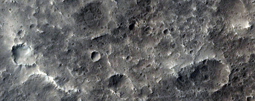 Possible Future Mars Landing Site in Trouvelot Crater
