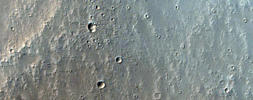 Possible Vent in Ulysses Fossae