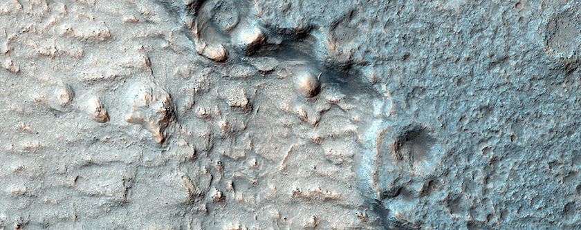 Terrain Near the MSL Landing Site