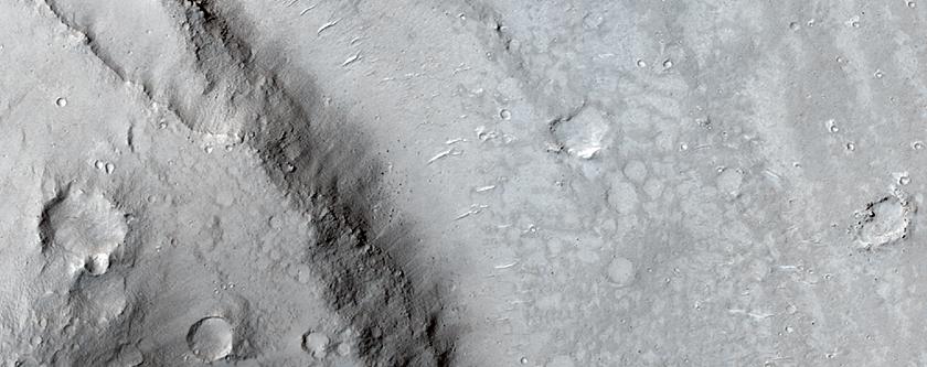 Streamlined Landforms near the Cerberus Fossae