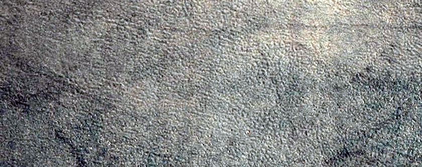 Crater Ejecta in Northern Acidalia Planitia