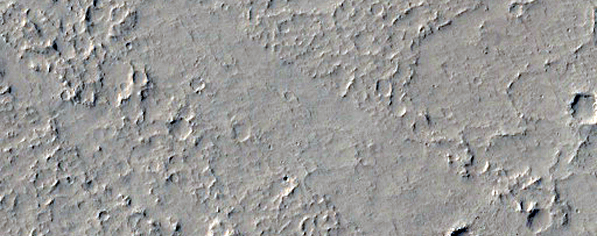 Sample of Amazonis Planitia