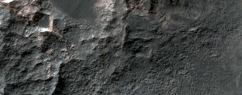Ritchey Crater Central Uplift