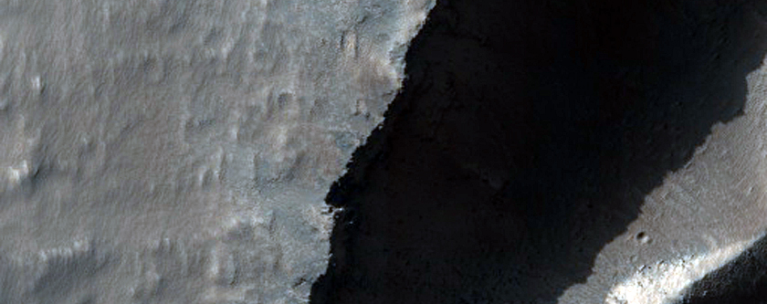 Valleys on Southern Flank of Arsia Mons