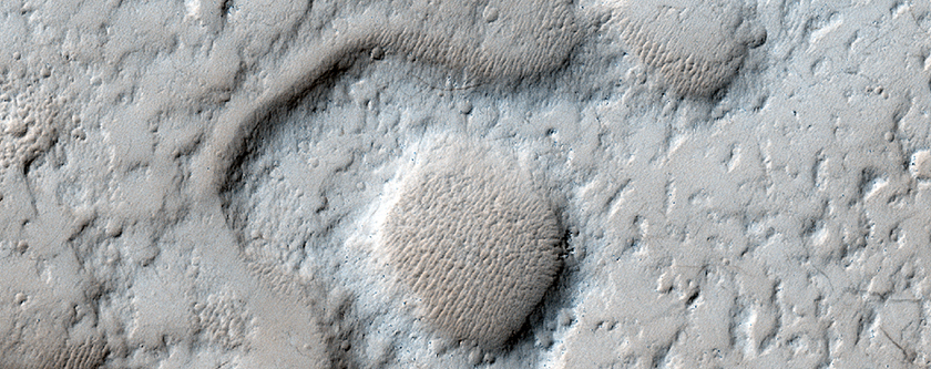 Mangala Valles Outflow and Debris Apron