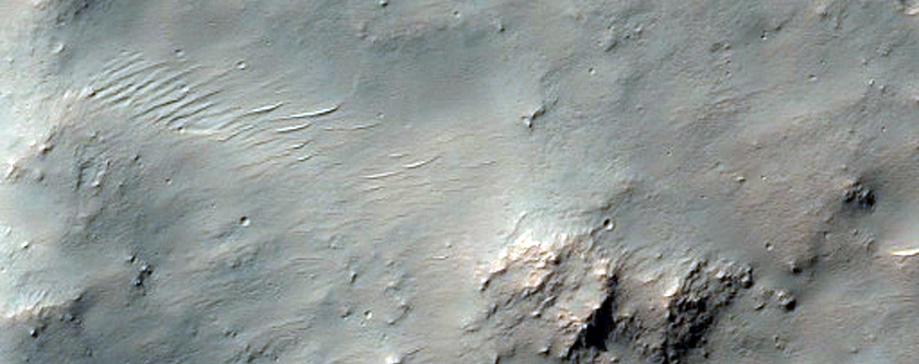 Greater Hellas Region Crater Rim or Escarpment