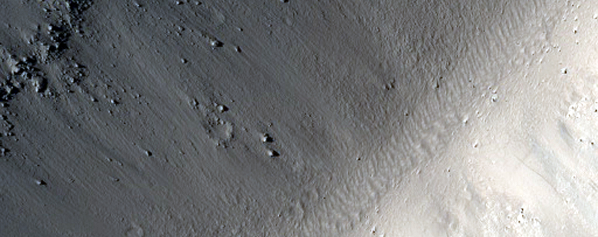 Tractus Catena Pit Crater Chain and Graben