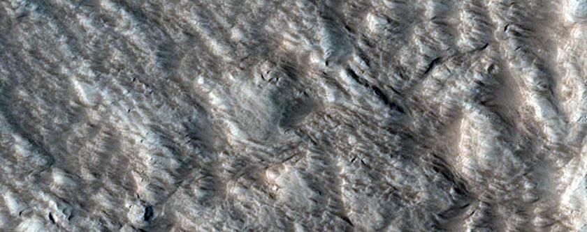Ceraunius Catena Pit Craters