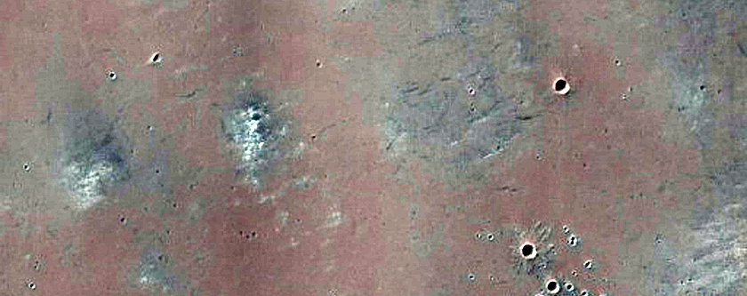 Monitor Changes in Recent Bright Impact Crater